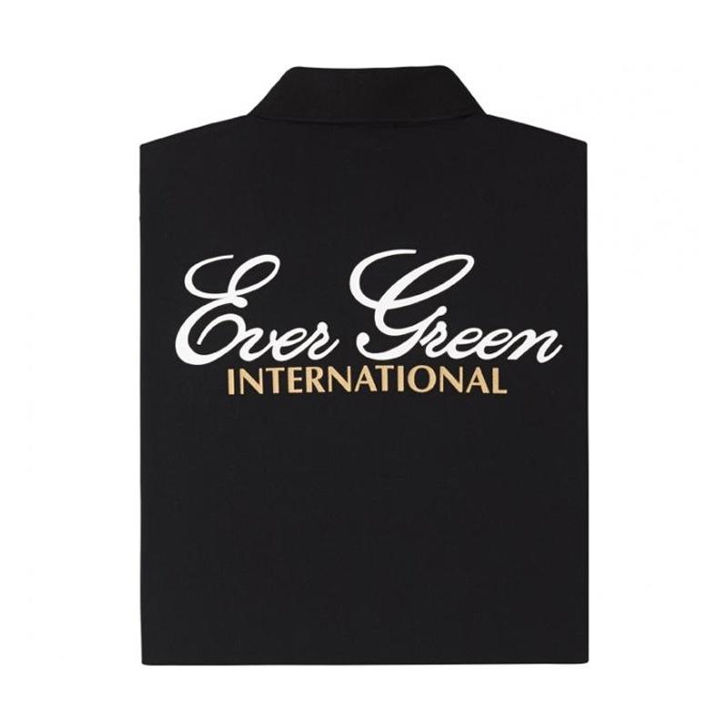 エバーグリーン(EVERGREEN) E.G.ドライポロシャツ Aタイプ S ブラック 5226001