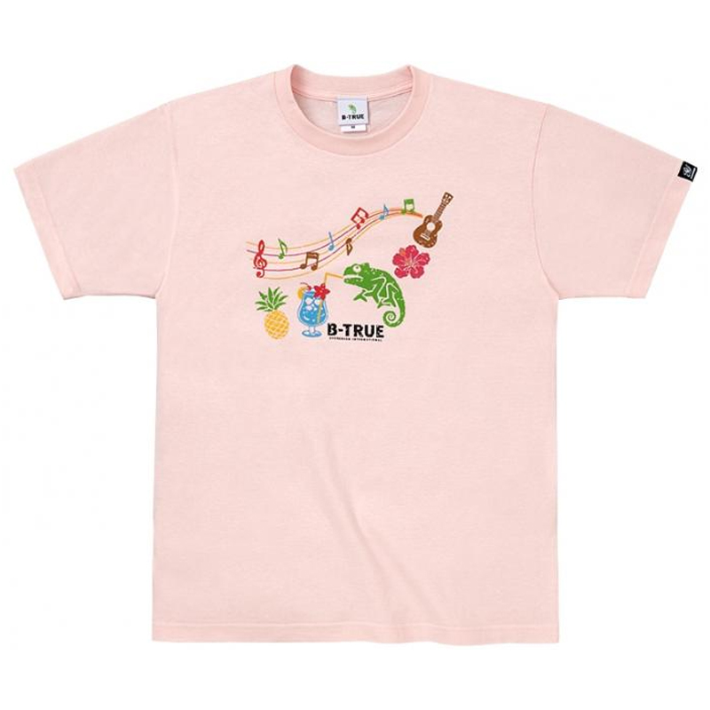 エバーグリーン(EVERGREEN) B-TRUE ベーシックTシャツ タイプ1 XXL ライトピンク 5249255