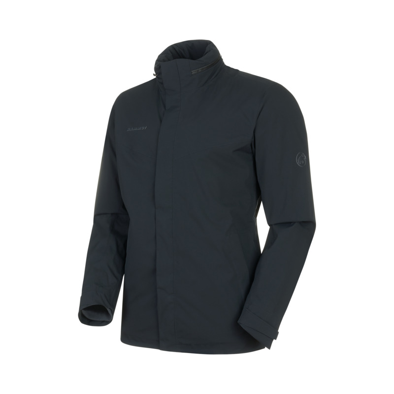 アウトドアジャケット(メンズ) MAMMUT(マムート) Trovat 3 in 1 HS Hooded Jacket AF Men's M 00189(black-phantom) 1010-27310