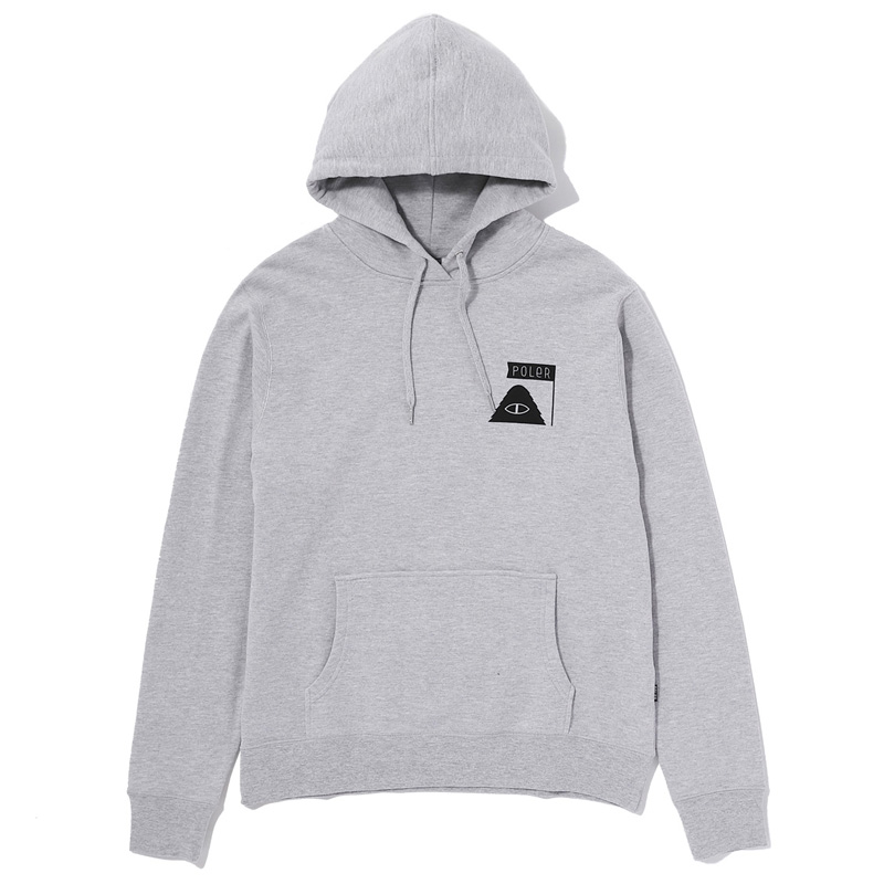 ODD BIRD HOODIE M HEATHER GRAY