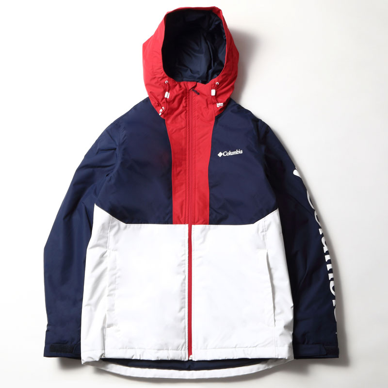 Columbia(コロンビア) TIMBERTURNER JACKET(ティンバーターナー ジャケット) Men's L 100(WHITE COLLEGIATE) EE0903