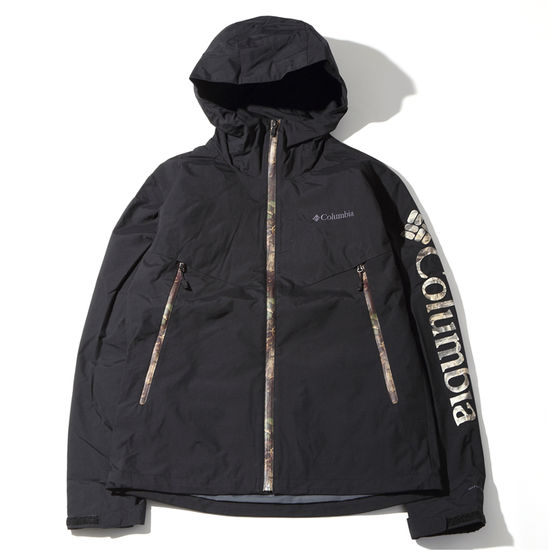 Columbia(コロンビア) DECRUZE SUMMIT PATTERNED(デクルーズ サミット パターンド) Men's L 010(BLACK TIMB) PM3751