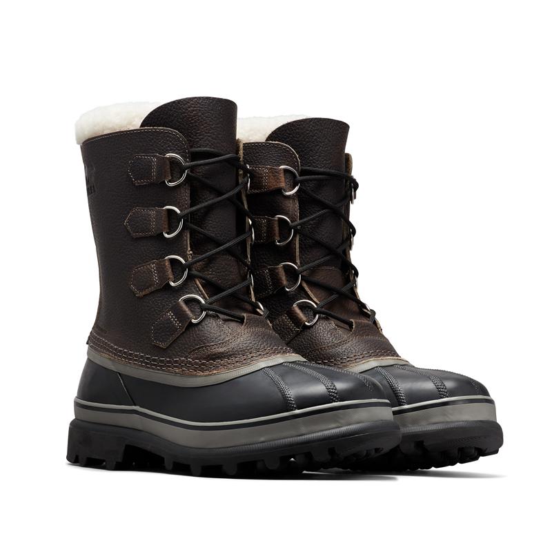 ウィンターシューズ 新着 SOREL 営業 ソレル カリブーウール Men's 8 NM1481 26.0cm QUARRY 053 BLACK