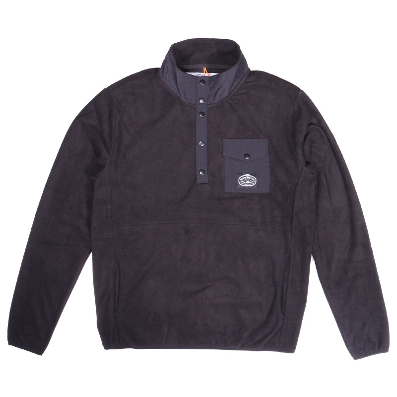 SNAP FLEECE M BLACK
