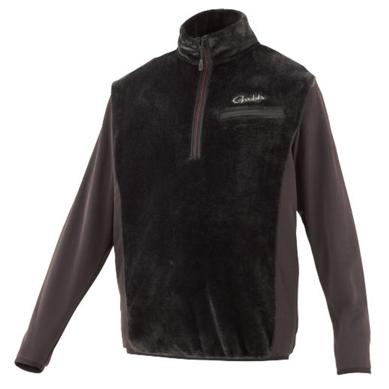 がまかつ(Gamakatsu) ボアフリースハーフジップシャツ GM-3614 S ブラック 53614-11-0