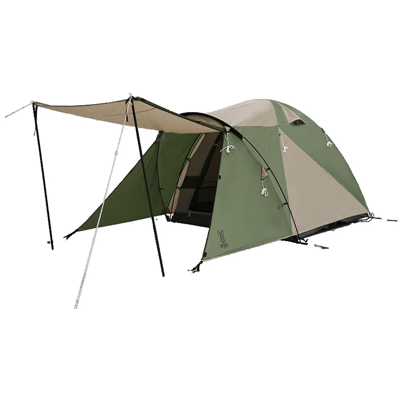 DOD(ディーオーディー) ザ・テント L タン×カーキ T5-624-KH