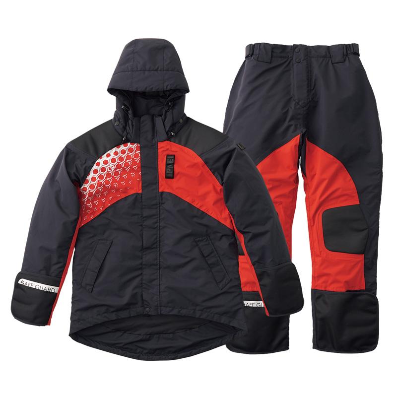ロゴス(LOGOS) LIPNER プロモデル 防水防寒スーツ L ブラック 30370712
