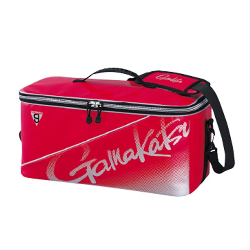 がまかつ(Gamakatsu) ボックスバッグ GM-3581 レッド×シルバー 53581-3-0