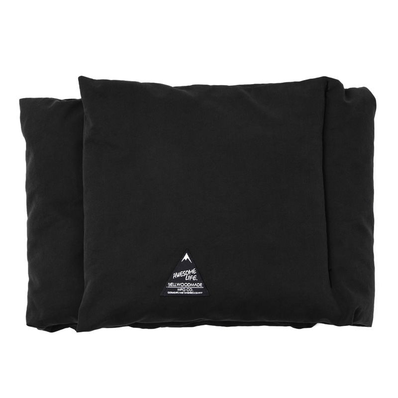 DOWN NECK WARMER COTTON フリー BLACK