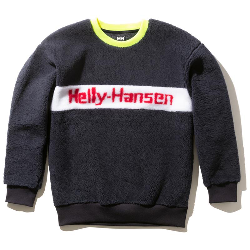 HELLY HANSEN(ヘリーハンセン) FIBERPILE ジャガード ロゴクルー L N HH51963