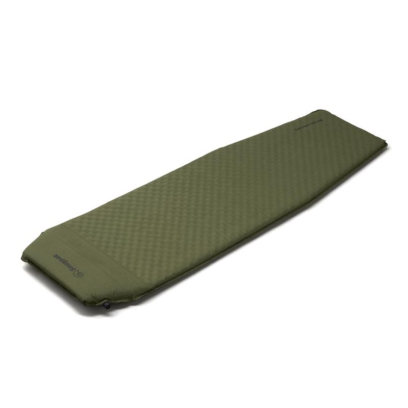 アウトドアマット Snugpak スナグパック XLセルフインフレーティングマット 人気 ピロー内蔵式 SP91794OL オリーブ 評判