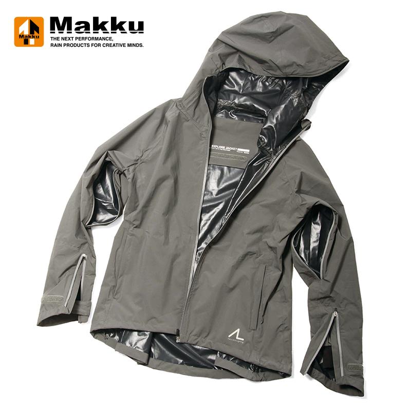 マック(Makku) エクスプロールジャケット LL チャコール AS-310