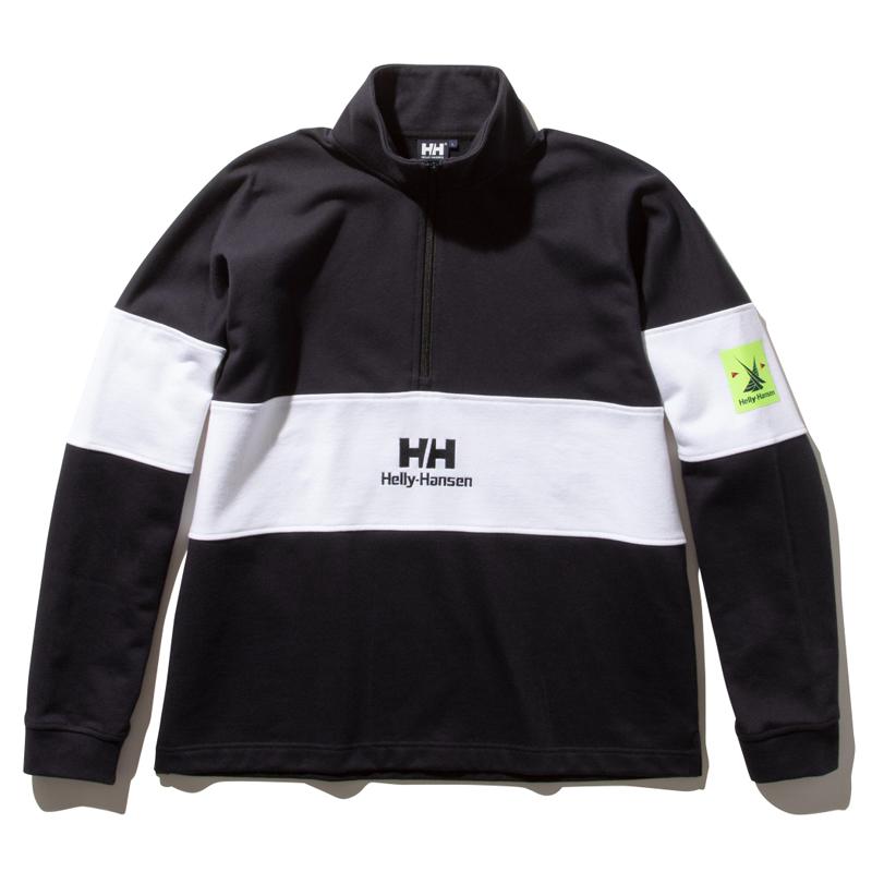 HELLY HANSEN(ヘリーハンセン) フォーミュラー ハーフ ジップ スウェット ジャケット Men's M K HH32034