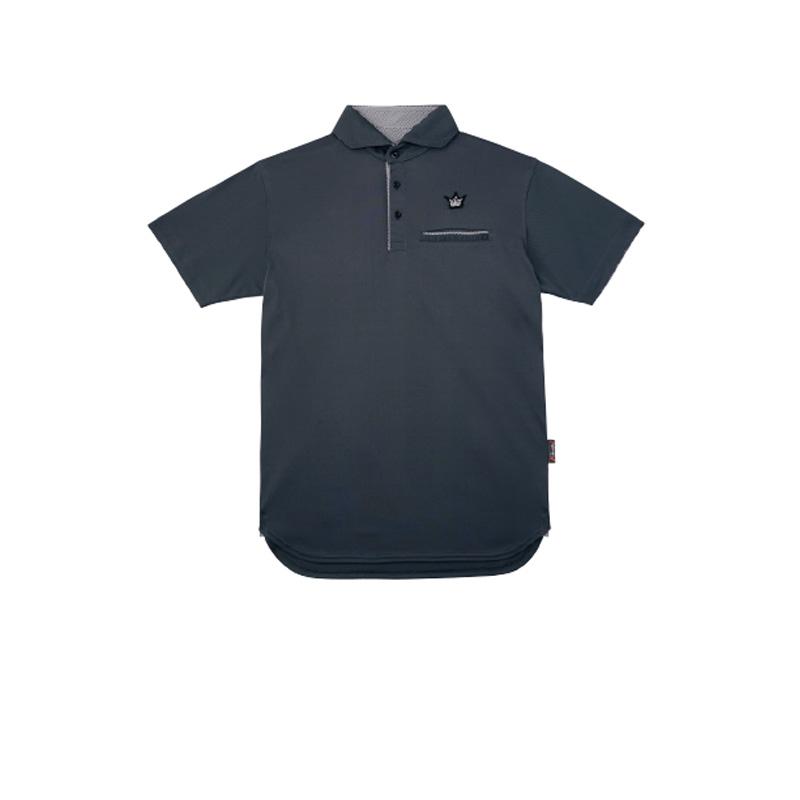 がまかつ(Gamakatsu) ポロシャツ(クラウンエディション・ロング丈) GM-3636 M チャコール 53636-32-0