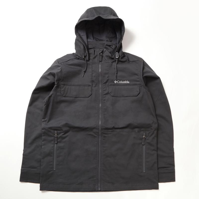 Columbia(コロンビア) Tummil Pines Hooded Jacket(ツミルパインズフーデッドジャケット)Men's XL 011(Shark) KE0083