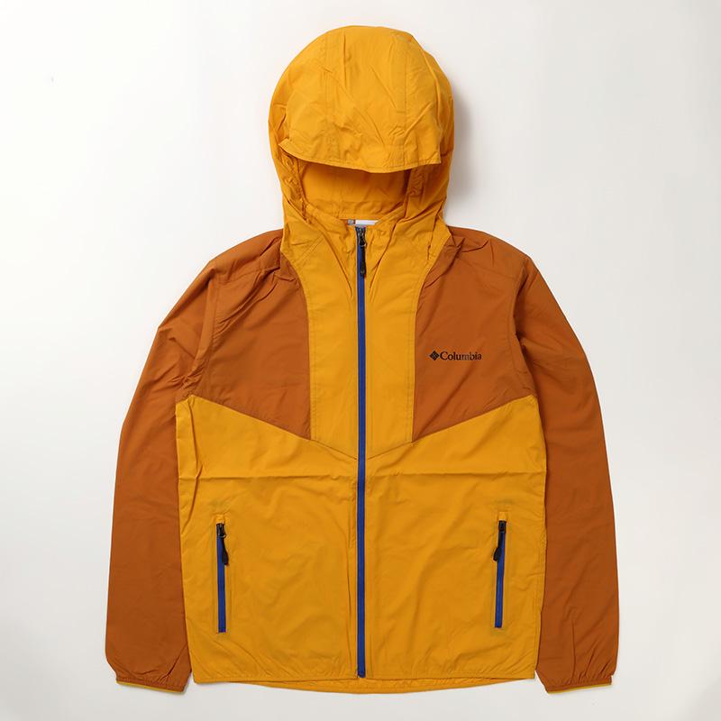 【P10倍☆3店舗買い回りで!4/9~】 Columbia(コロンビア) Square Hike Jacket(スクエア ハイク ジャケット) Men's L 708(Canyon Gold) PM3792