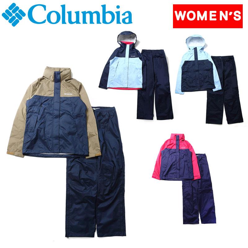 Columbia(コロンビア) シンプソン サンクチュアリー II ウィメンズ レインスーツ L 486(Sail) PL0016