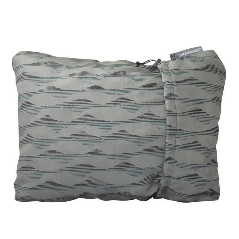 シュラフアクセサリー 卸売り ピロー 枕 ブランケット THERMAREST 有名な サーマレスト コンプレッシブルピロー M 30137 グレーマウンテン