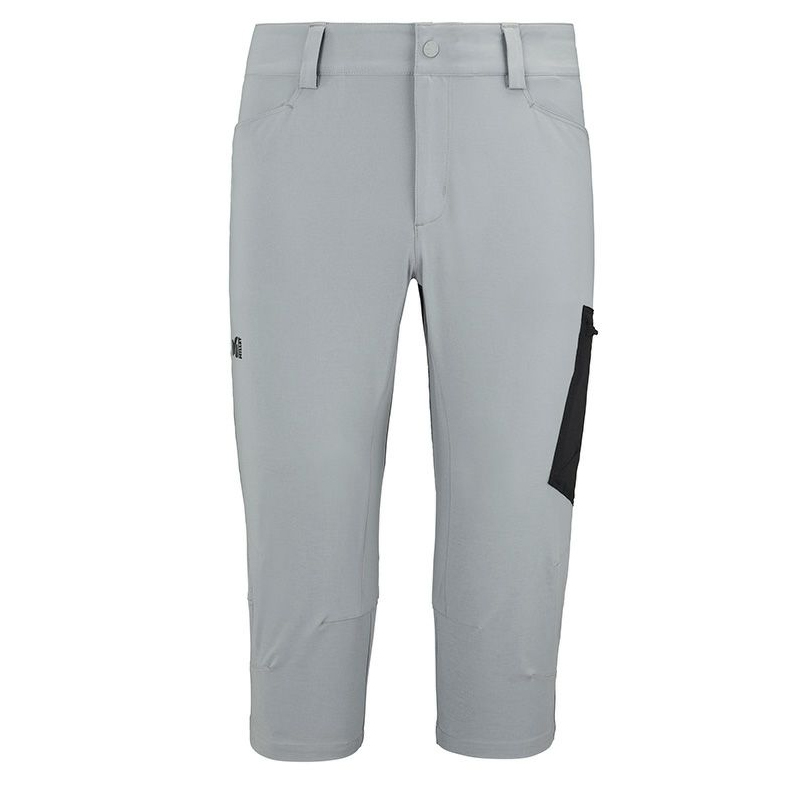 MILLET(ミレー) WANAKA STRETCH 3/4 PANT(ワナカ ストレッチ 3/4 パンツ) Men's S 9176(MONUMENT×NOIR) MIV7708