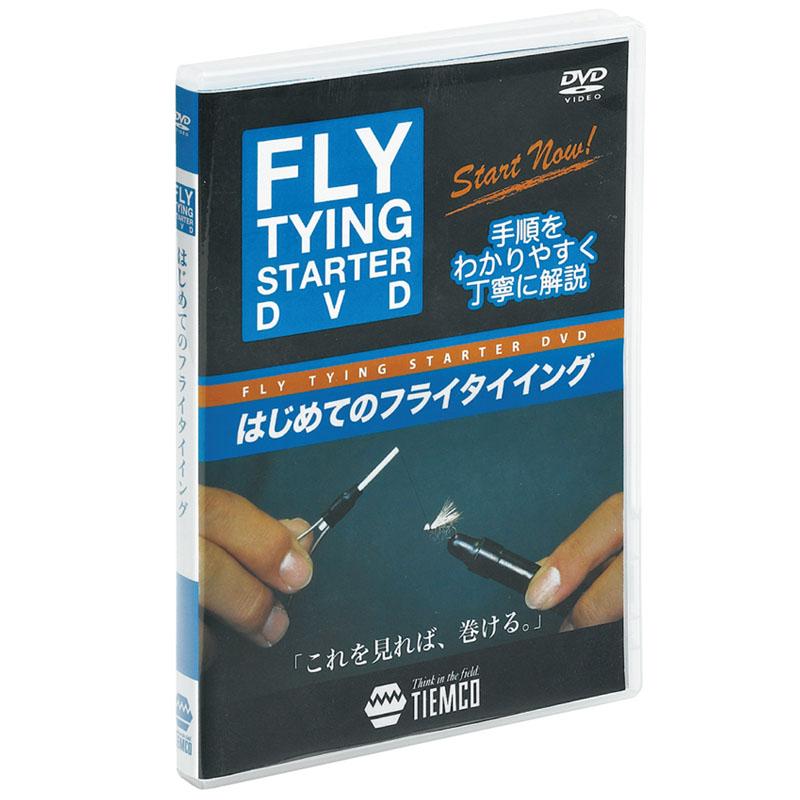 釣り関連本 DVD 未使用 ビデオ 全品送料無料 ティムコ 146000100011 フライタイイング TIEMCO スターター
