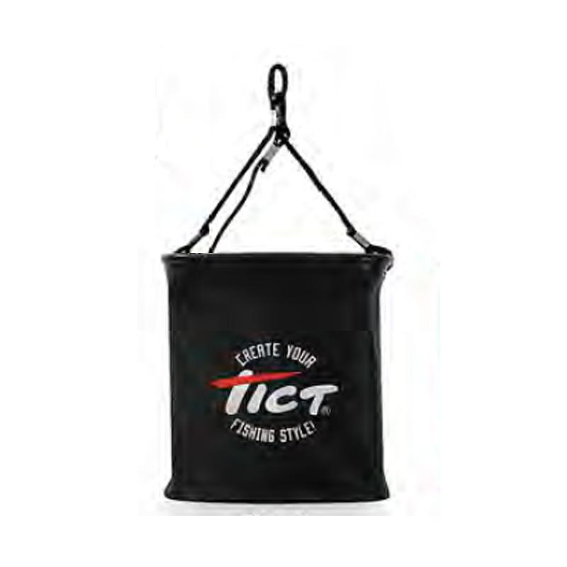 タックルバッグ TICT ティクト ブラック 高品質 日本正規代理店品 フォールディングライブバケツ