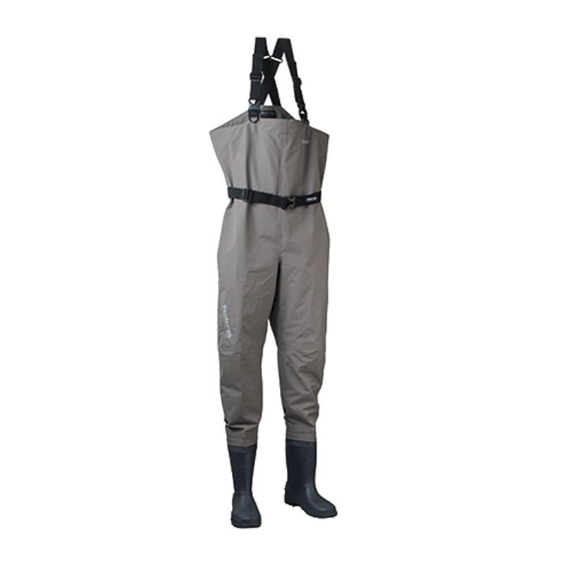 パズデザイン PVCブーツBSCHウェーダーRD ラジアルソール 3L チャコール PBW-482