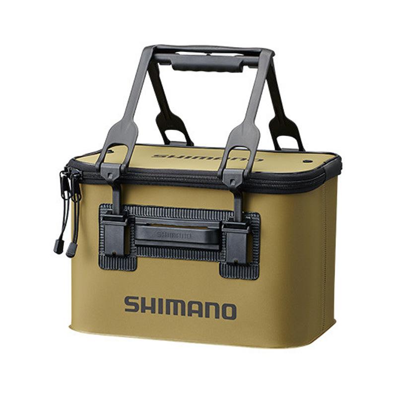 タックルバッグ シマノ SHIMANO BK-016Q 出群 バッカン EV WEB限定 33cm カーキ 69841
