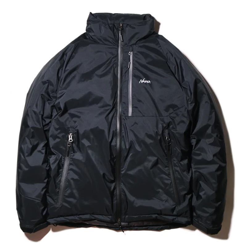 ナンガ(NANGA) オーロラ スタンド カラー ダウン ジャケット メンズ S BLK(ブラック)
