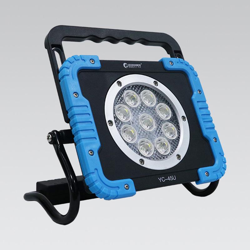 アウトドアライト グッド グッズ good 充電式 人気海外一番 LED投光器 YC-45U goods 定番の人気シリーズPOINT ポイント 入荷