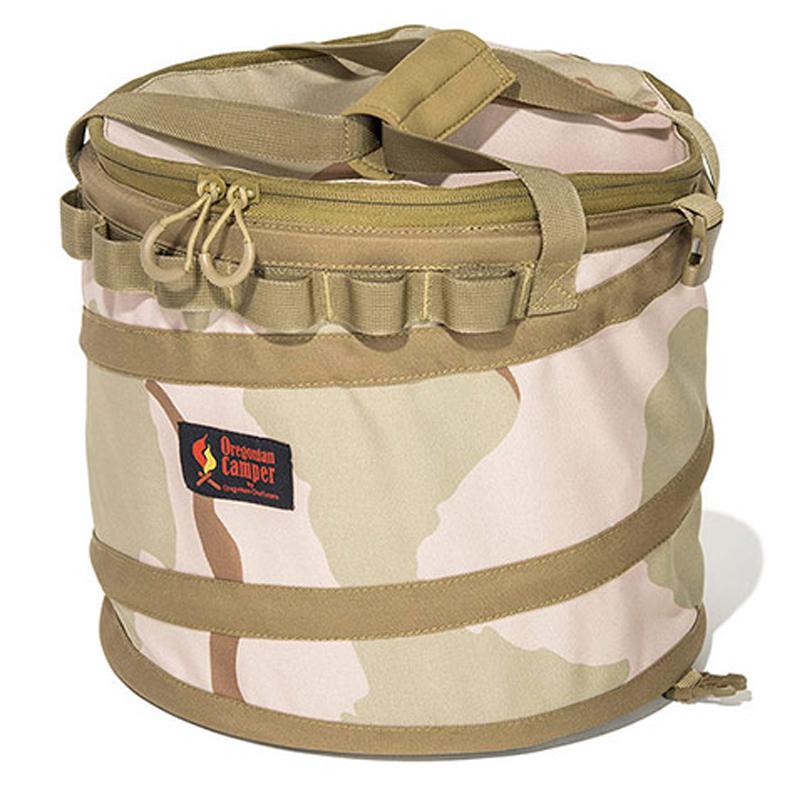 キャンプ設営用具 オレゴニアン キャンパー Oregonian Camper 配送員設置送料無料 Tent 定番の人気シリーズPOINT(ポイント)入荷 in POP UP Trash BOX ポップアップ DesertCamo 約19L OCB-2024 テントイン デザートカモ トラッシュボックス