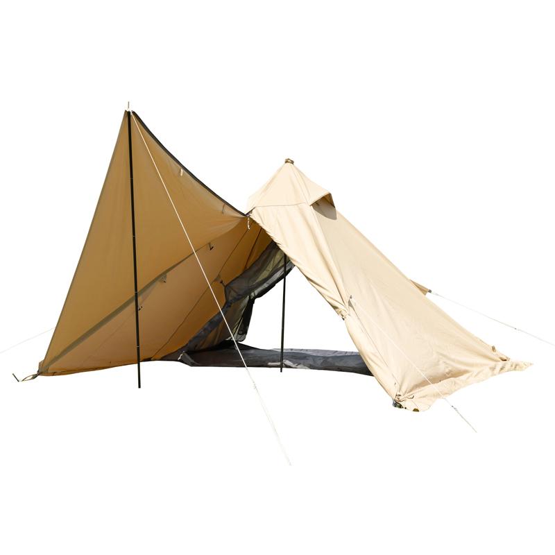 テント 卸売り BUNDOK バンドック ソロティピー1TC BDK-75TCSB サンドベージュ 新作送料無料
