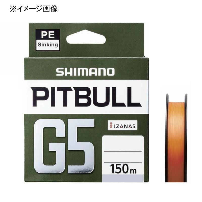 ルアー釣り用PEライン 直営限定アウトレット シマノ SHIMANO LD-M51U ピットブルG5 0.6号 内祝い 150m ハイオレンジ 51612