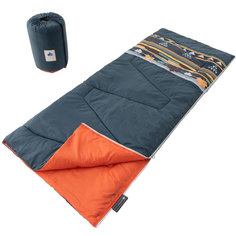 【2021年新商品】丸洗い寝袋 リバーシブル・5 (ダークグリーンナバホ)