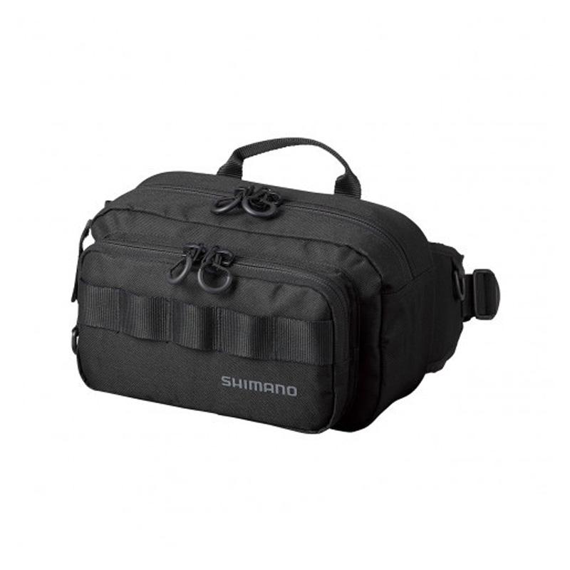 タックルバッグ シマノ 物品 SHIMANO BW-021T 49177 M ブラック 新作通販 ヒップバッグ