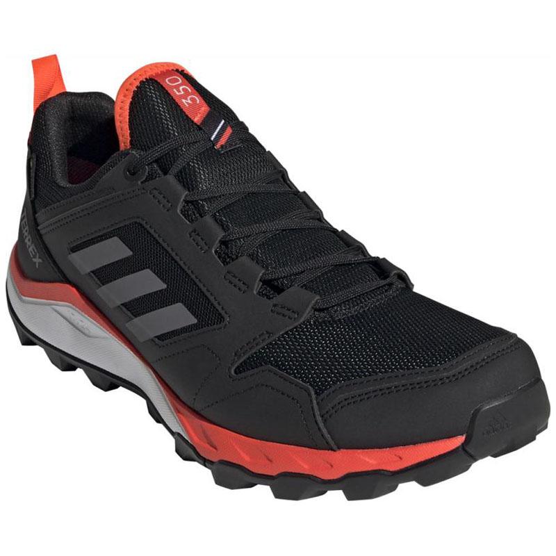 adidas(アディダス) TERREX AGRAVIC TR GTX 27.0cm コアブラック×グレーフォー×ソーラーレッド ADJ-EF6868-270