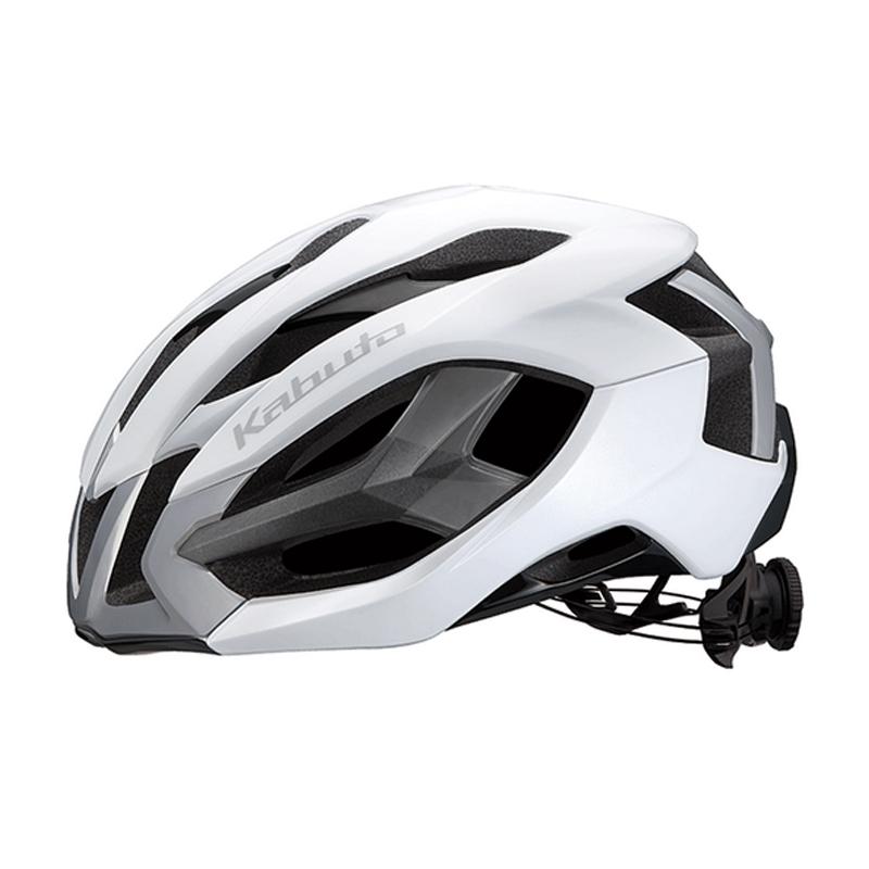 自転車アクセサリー オージーケー カブト(OGK KABUTO) IZANAGI イザナギ 自転車用ヘルメット スポーツ S/M ホワイト