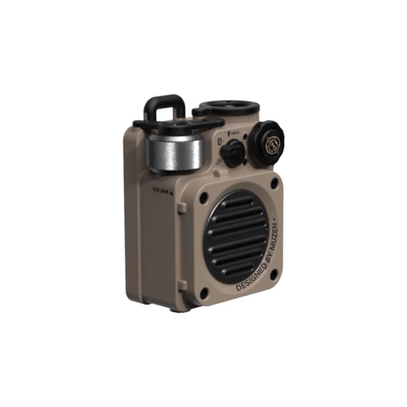 年中無休 直営店 便利小物 雑貨 文具 サングラス MUZEN ミューゼン Wild speaker Yellow Desert bluetooth Mini 11013040102