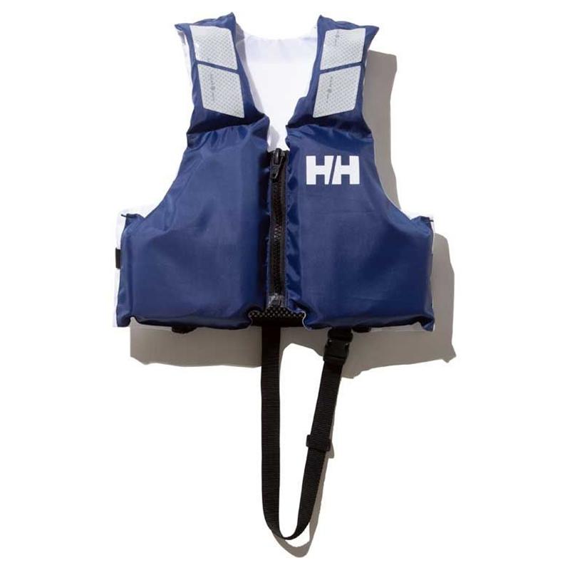 フローティングベスト 卸直営 ライフジャケット HELLY HANSEN ヘリーハンセン ジュニアヘリーライフジャケット キッズ KM HJ82000 (人気激安) HB ヘリーブルー