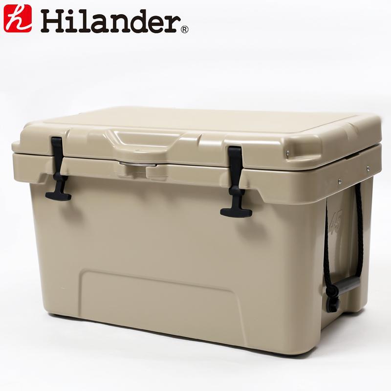 Hilander(ハイランダー) ハードクーラーボックス 45L タン HCA0229