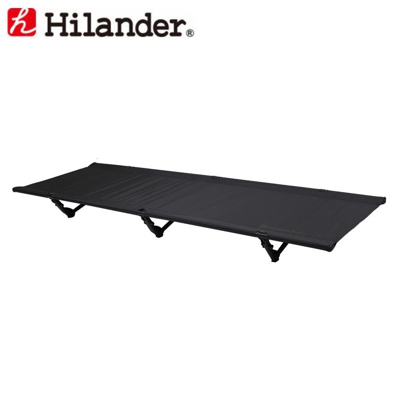 Hilander(ハイランダー) 軽量アルミローコット ブラック HCA0244