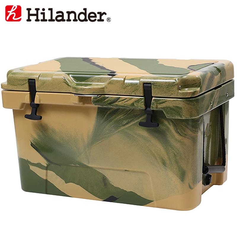Hilander(ハイランダー) ハードクーラーボックス 45L カモ HCA0268