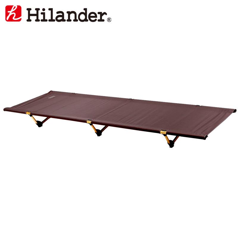 Hilander(ハイランダー) 軽量アルミローコット【限定カラー】 ブラウン×ゴールド HCA0286
