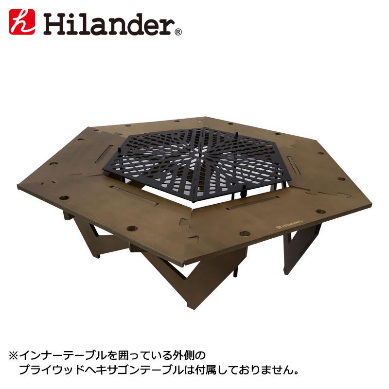 スチールヘキサゴン インナーテーブル/Hilander(ハイランダー)