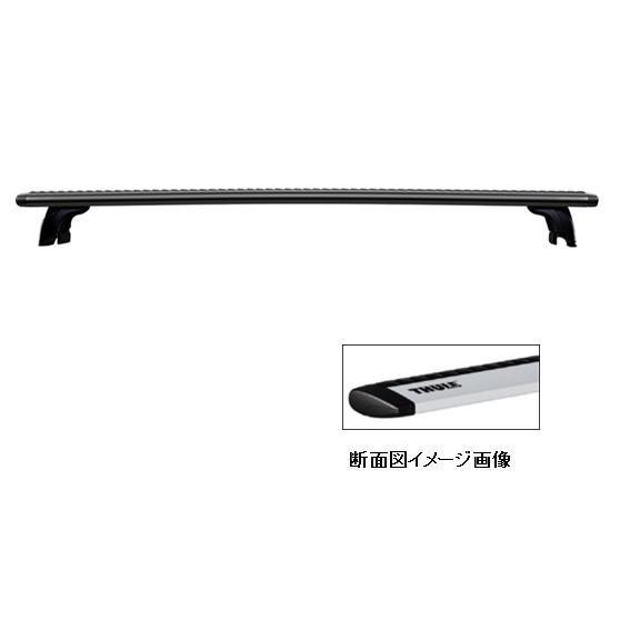 Thule(スーリー) ウィングバー ブラック 108cm ブラック TH960B