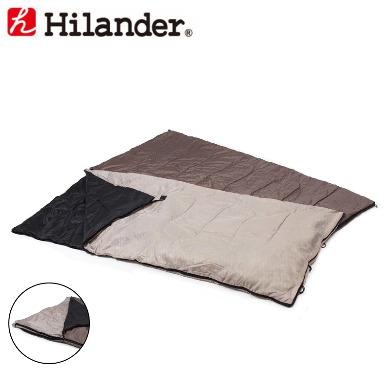 2in1 洗える3シーズンシュラフ(5℃&15℃対応)/Hilander(ハイランダー)