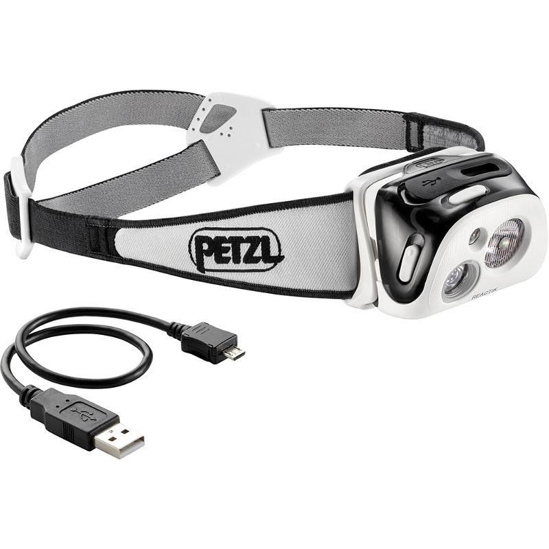 PETZL(ペツル) リアクティック 充電式 ブラック E92 HNE