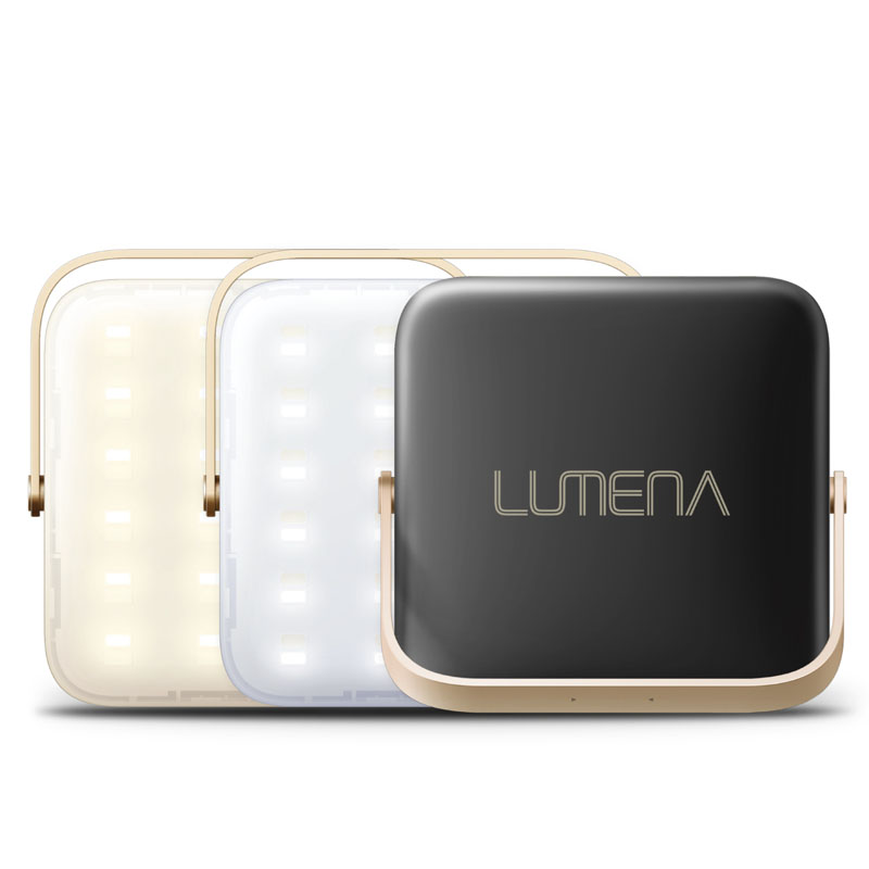 NNINE LUMENA(ルーメナー)7 LEDランタン 最大1300ルーメン 充電式 ブラック LUMENA7-BLK
