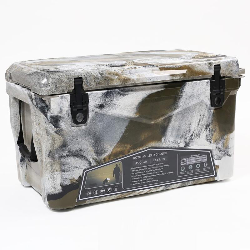 アイスランドクーラーボックス アイスランドクーラーボックス45QT (デザートカモ) デザートカモ