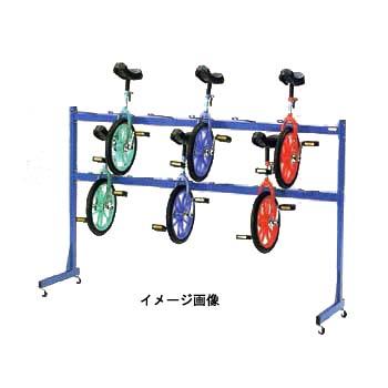 ダンノ(DANNO) D3159 一輪車ラック【代引不可】 D3159 【大型商品】