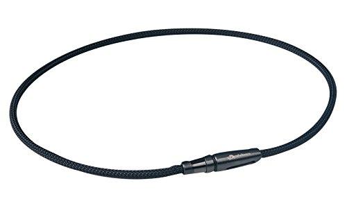 0211TG230153/RAKUWAネックX100 リーシュモデル ブラック 50cm 4940756297025/ファイテン株式会社